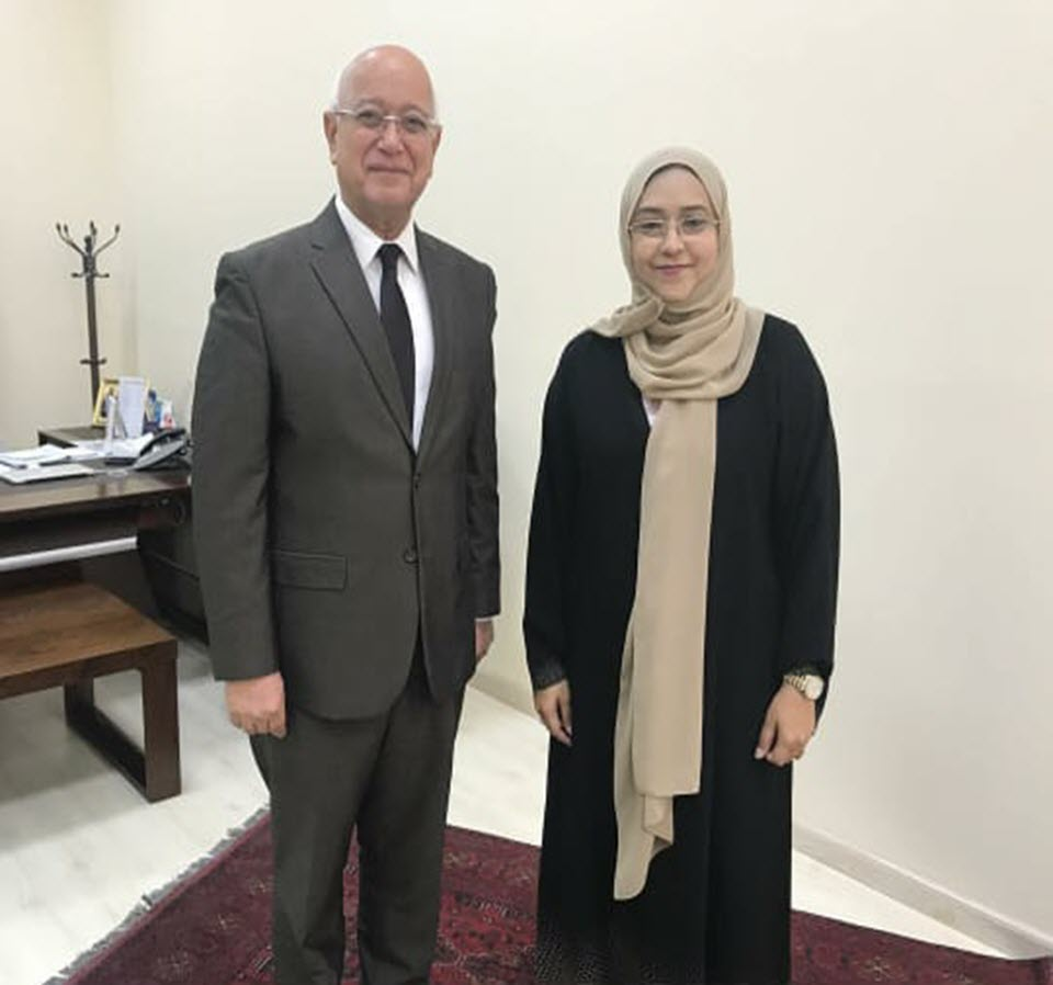 A meeting with Professor Hossam Hamdy, an expert in academic medical education
